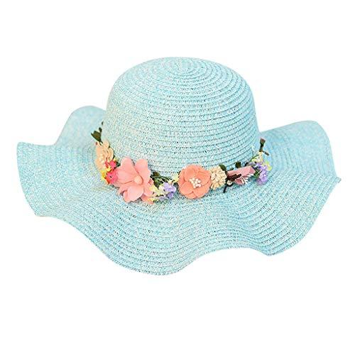Womens Fashion Zomer Straw Krans Zon Hoed - Vouwen Reizen Strand Jazz Zonnescherm Panama Trilby Beach Cap