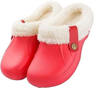 Kiyotoo - Zapatillas de casa para Mujer, de algodón, Antideslizantes, Impermeables, para Interiores y Exteriores, con Forro
