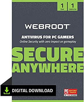 Webroot Antivirus Protection and Internet Security Software (Download)