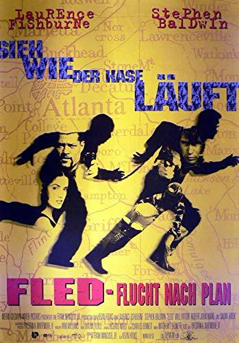 Fled - Flucht nach Plan - Laurence Fishburne - Filmposter A1 84x60cm gerollt