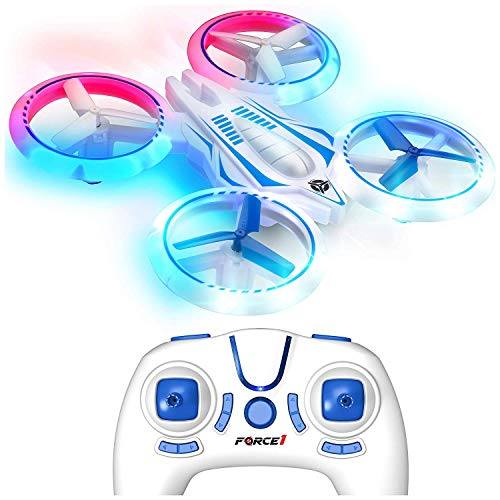 Force1 UFO 4000 LED Mini Drone for Kids - Remote...