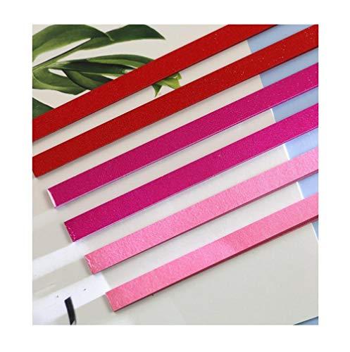 Reines farbig gestapeltes Sternpapier, gefaltetes Glücksstern-Origami, handgeschöpftes Papier für Kinder und Studenten-Bonus 3