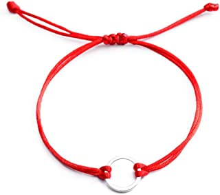 comprar comparacion Lilloubella - Pulsera de hilo rojo con amuleto de la suerte, protección contra el mal de ojo y para el éxito, varias opcio...