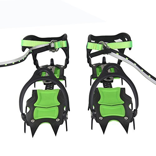 BRS Professional Edition Fourteen Teeth Ice Crampons Winter Snow Boot Shoe Covers Gripper BRS-S1A