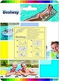Bestway 8320540 Kit Parches para reparación (Blister 10 Piezas)
