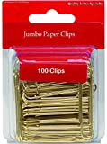 Jumbo Gold Paper Clips