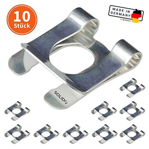 SOLIDfy® - [10x] SL-Sicherungen Ø 10mm Wellensicherung für Wellen und Bolzen verzinkte SL Sicherung