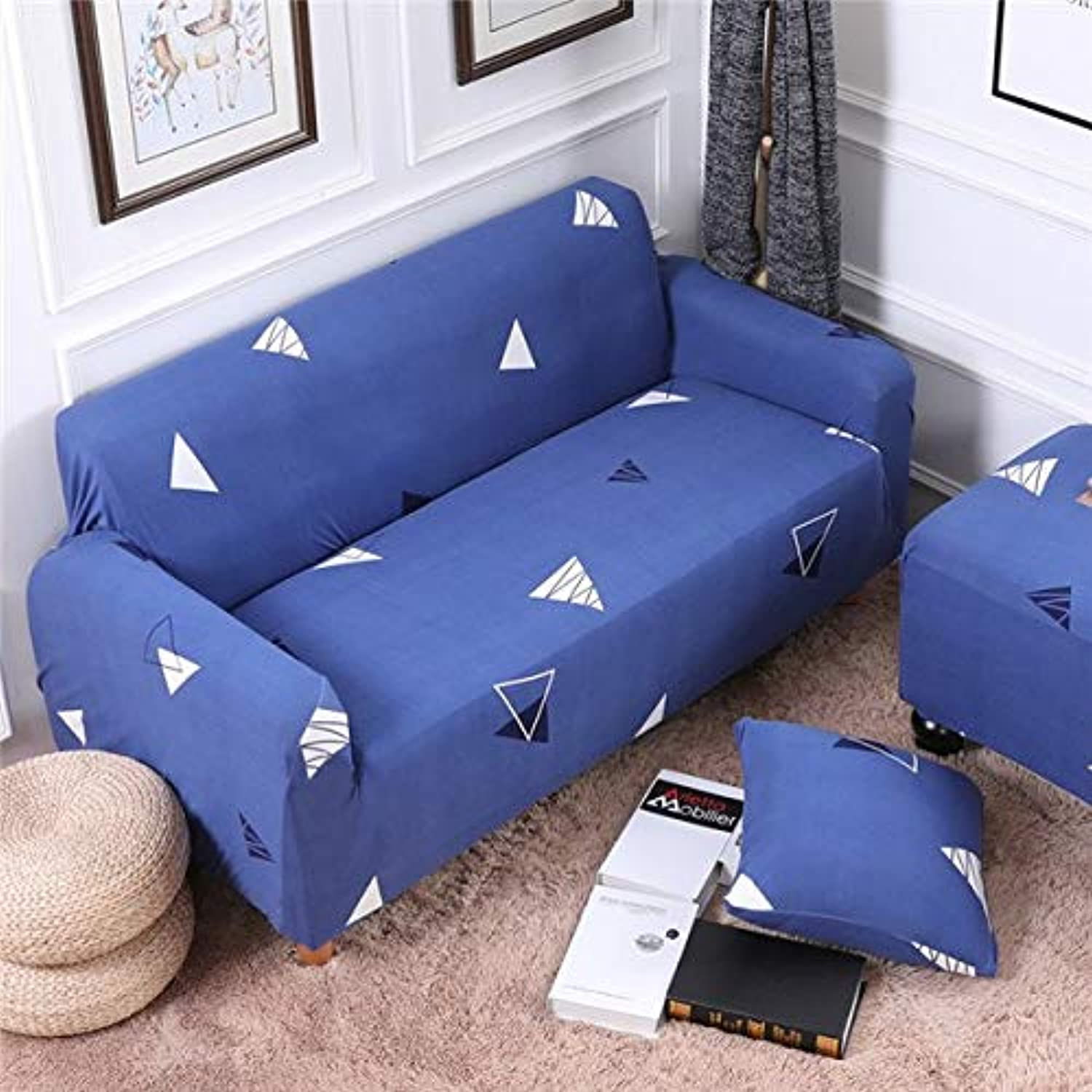 Elastic All-Inclusive Slip-Resistant Slipcovers Corner Sofa Covers Sectional Sofa Cover Spandex Stretch Predective Couch Cover   6, Four Seater