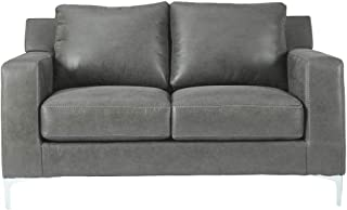 Signature Design by Ashley - Ryler Loveseat, Charcoal