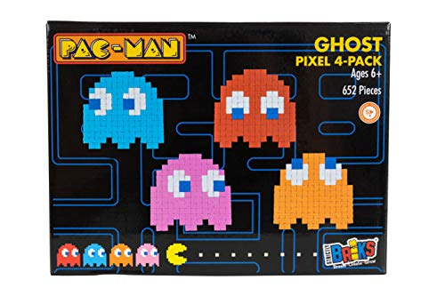 Strictly Briks Pac-Man 4-Pack Ghost Brick Building for sale  Delivered anywhere in UK