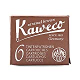 ONOGAL 1x Kaweco 6 Cartuchos Tinta Sepia Marron de Estilográfica KA CART01 7015bsepia