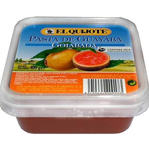 El Quijote- Mermelada - Dulce de Guayaba - Ideal para Untar en Tostadas con Patés- 400 Gramos
