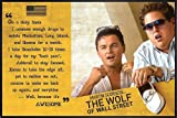 Close Up The Wolf of Wall Street Poster Awesome (62x93 cm)
