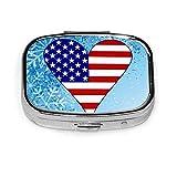 Caja organizadora con diseño de bandera de EE. UU.