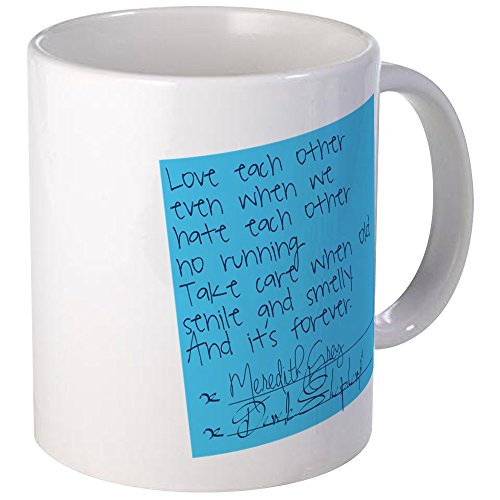 CafePress – Grey 's Anatomy: Post it – Tasse, keramik, Weiß, S