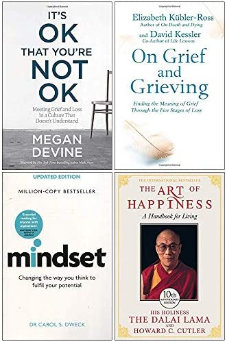 It s Ok That You re Not Ok On Grief And Grieving Mindset Carol Dweck The Art of Happiness 10th product image
