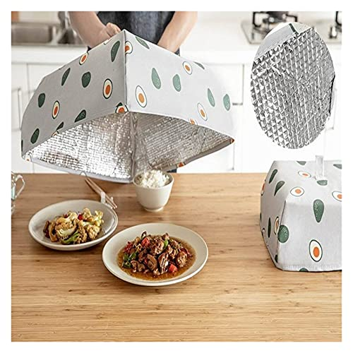 Cubierta de comida Cubierta de comida de venta caliente Cubierta de placa para el hogar Aislamiento plegable Tabla a prueba de polvo Tabla de arroz Tabla de arroz cubierta de sombrilla Nuevo
