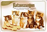 Chocolate Cat Tongues Katzenzungen, 3.5 Ounce, Product of Germany (Marbled Chocolate)