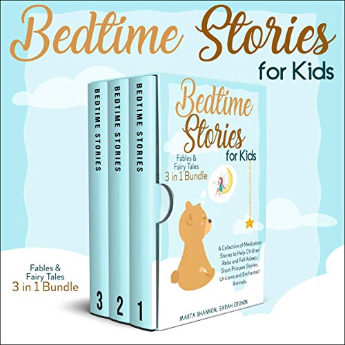 Bedtime Stories for Kids: Fables & Fairy Tales - 3 in 1 Bundle cover art