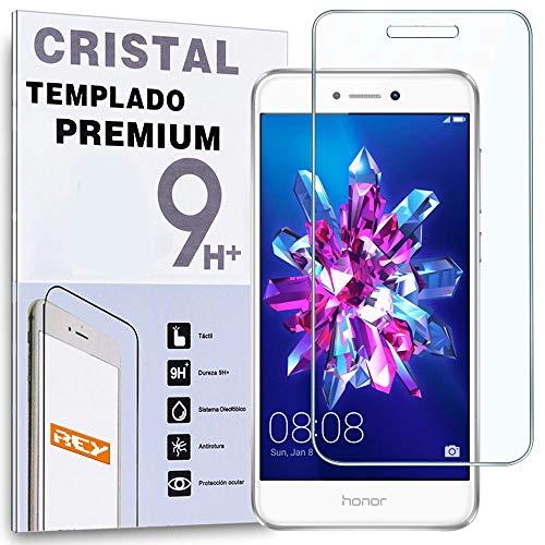 REY Protector de Pantalla para Huawei P8 Lite 2017, Cristal Vidrio Templado Premium