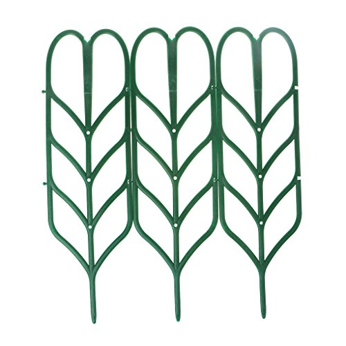 3Pcs DIY Plant Support Artificial Mini Climbing Trellis Flower Stand Garden Tool
