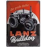 Nostalgic-Art Retro Blechschild Lanz – Bulldog –