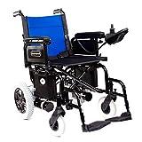 Libercar – Power Chair – Silla de Ruedas Eléctrica Plegable – Baterías De Litio – Robusta – Altas Prestaciones (Ruedas Traseras Antipinchazos 31cm)