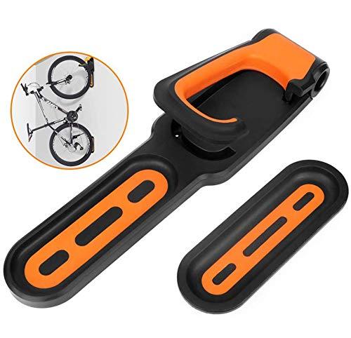 Colgador De Bicicleta Montado En La Pared, Gancho De Almacenamiento Plegable, Estacionamiento De Pie Con Almohadillas Para Neumáticos Bastidores De Bicicleta Verticales Para Exhibición De Bicicletas