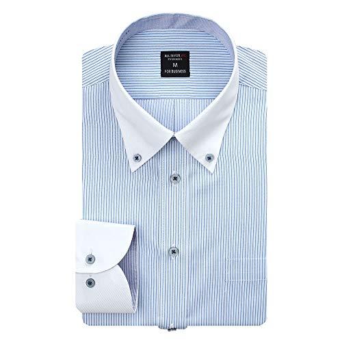 (アトリエ 365) 長袖 ワイシャツ 大きいサイズ イージーケア 形態安定 Yシャツ カッターシャツ ビジネス/sun-ml-sbu-1132-ats-3L-45-md885888-hcgb