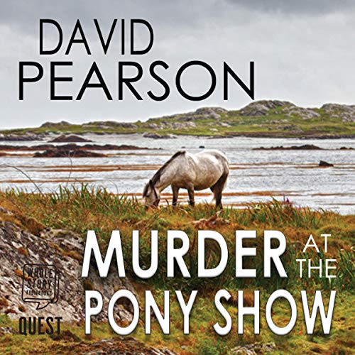 Murder at the Pony Show audiobook cover art