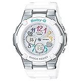 [カシオ] 腕時計 ベビージー BGA-116-7BJF ホワイト