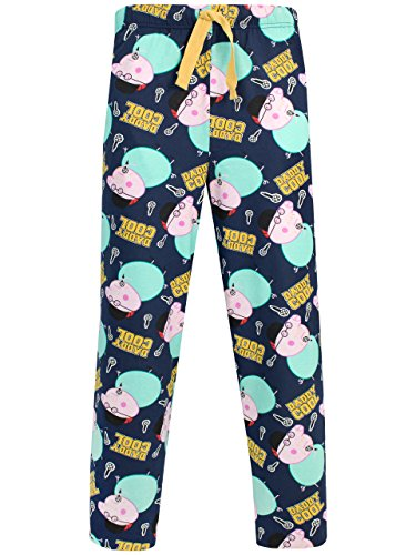 Peppa Pig Mens Daddy Pig Lounge Pants Multicoloured...