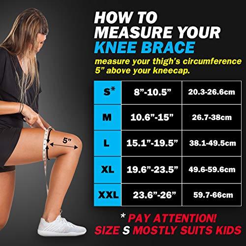 POWERLIX Knee Compression Sleeve