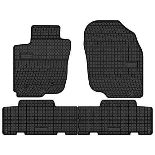 Prismat Gummimatten Gummi Fußmatten Satz für Toyota RAV4 (2006-2013) - Passgenau
