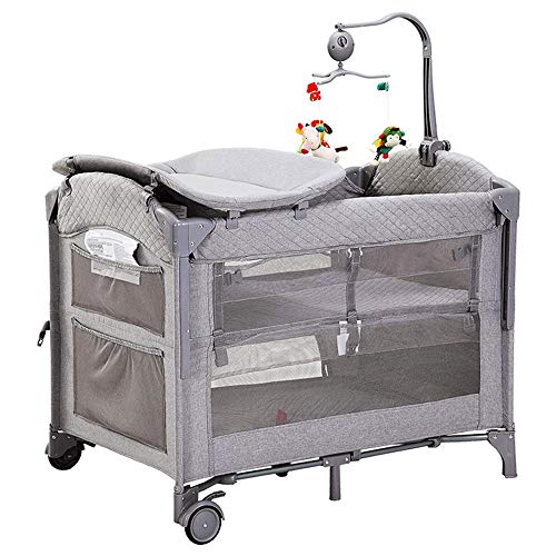 Review Of Yyqt Baby Cot,Travel Cot Bed New Child Baby Bedside Cot Playpen, Playpen with Entryway F...