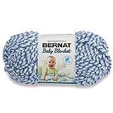 Bernat Baby Blanket Twist Yarn, 3.5 Ounce, Blue Twist,16114747128