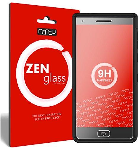 ZenGlass Flexible Glas-Folie kompatibel mit BlackBerry Motion Panzerfolie I Bildschirm-Schutzfolie 9H I (Kleiner Als Das Gewölbte Bildschirm)