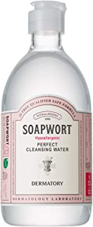 DERMATORY Hypoallergenic Perfect Cleansing Water 17 Ounce Transparent