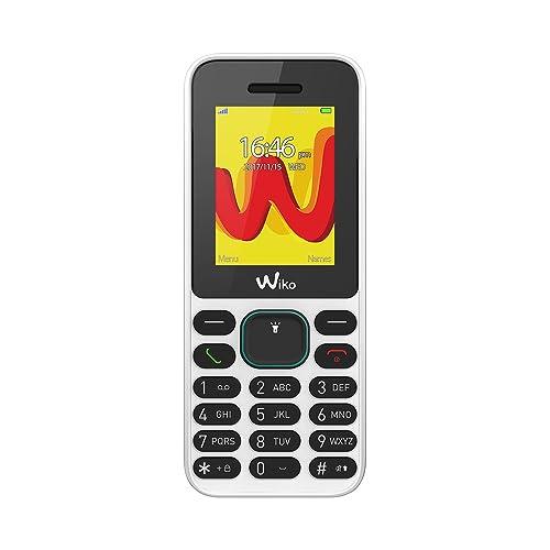 Wiko Lubi5 Téléphone portable débloqué 2G (Ecran: 1,8 pouces - 32Mo - Double SIM) Blanc