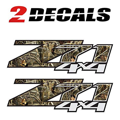 TiresFX Z71 4x4 Realtree Camo (Set of 2 Decals) - F - 1500 2500 HD Stickers