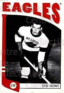 (CI) Syd Howe Hockey Card 2004-05 ITG Franchises (base) 297 Syd Howe