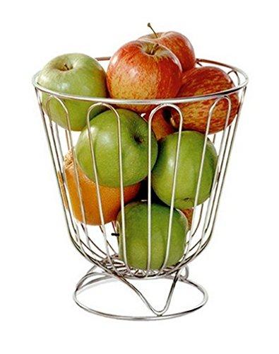 Corbeille à Fruits et Agrumes Inox - Haute