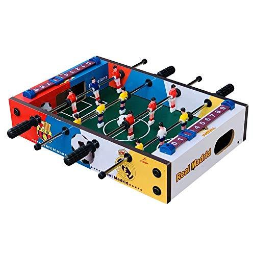 SCZWJ Mini Table Top Kicker, Mini Air Hockey Tisch und Mini-Tischplatte Billardtisch Billardtisch Kinderfußball-Spieltisch Indoor & Outdoor Fußball