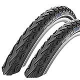 SCHWALBE Land Cruiser 700 x 35c Hybrid Bike Tyres (Pair)