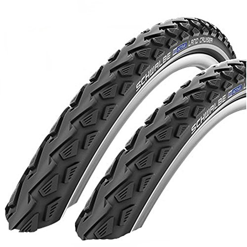 SCHWALBE Land Cruiser 26' x 2.0 Mountain Bike Tyres (Pair)