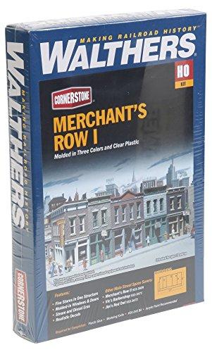Walthers Cornerstone Series Kit HO Scale Merchant's Row I
