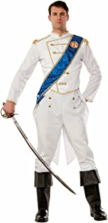 75654 Men's Happily Ever After Prince Costume, One Size, Multicolor, Pack of 1