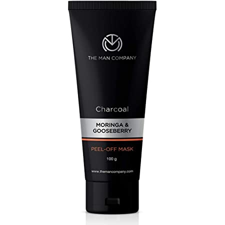 The Man Company Activated Charcoal Peel Off Mask | Remove Blackheads, Dead Skin | Face Mask For Men | Paraben & Sulphate Free | 100gm