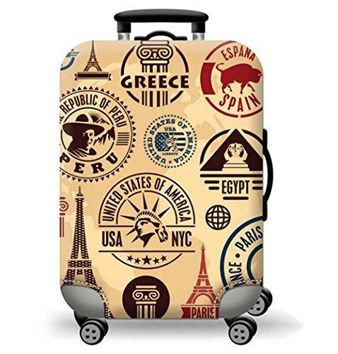 Demana Bagage Tas Bagage Elastische Bagage Overdekte Bedrukte Koffer Cover Protector