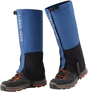 KUYOU Leg Gaiters Waterproof Snow Legging Mountain Hiking Hunting Skiing Boot Gaiters 500D High Leg Cover for Men Women L/XL